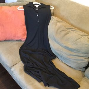 Black Knit Shift Dress